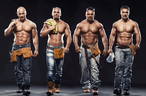 """The Construction Crew Poster 17"""" x 11"""""""
