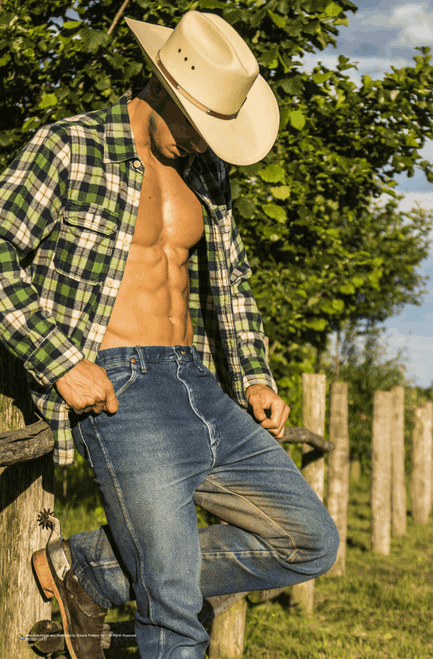 "Cowboy Way Poster 11"" x 17"""