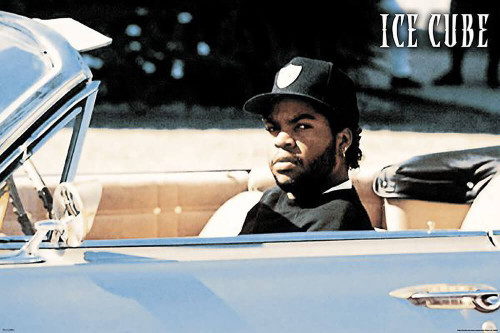 """Ice Cube - Convertible Poster - 36"""" x 24"""""""