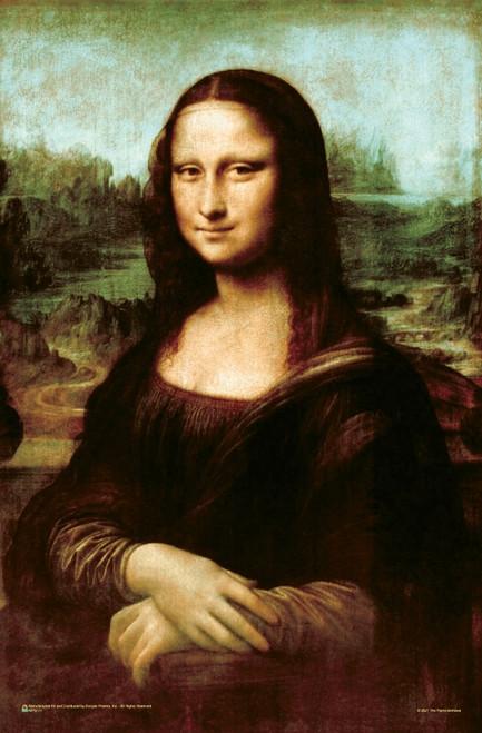 """Mona Lisa by Leonardo da Vinci Mini Poster 11"""" x 17"""""""