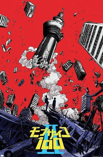 "Mob Psycho 100 Poster - 22.375"" x 34"""
