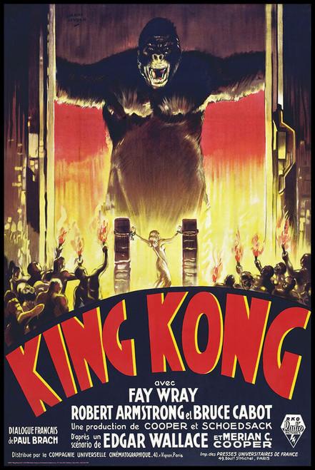 "King Kong Gates Fire Poster 24"" x 36"""