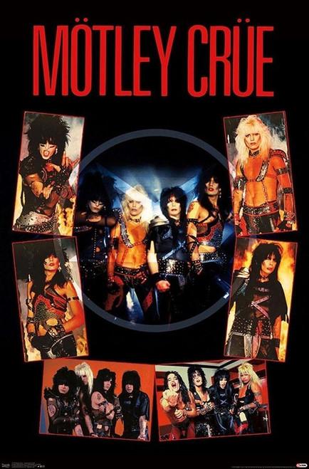 """Motley Crue - Shout at the Devil Poster 22.375"""" x 34"""""""