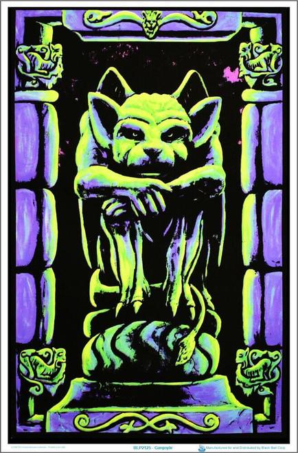 "Gargoyle Blacklight Poster 23"" x 35"""
