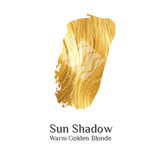 Sun Shadow warm Golden Blonde organic hair colour swatch sample