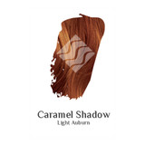 Caramel Shadow light auburn hair colour swatch sample