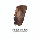 Walnut Shadow medium brown hair colour swatch sample