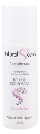 Natural Scents roll on Deodorant 100ml Lavender product image