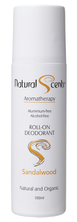 Natural Scents Sandalwood roll-on deodorant 100ml product image