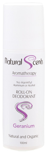 Natural Scents roll-on deodorant Geranium 100ml