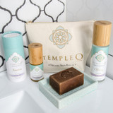 Temple O ritual skin care pack for normal skin types product shot