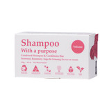 Shampoo with a purpose plastic free shampoo and conditioner bar for volume product image