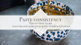 Paste consistency - How to mix your organic hair colour paste