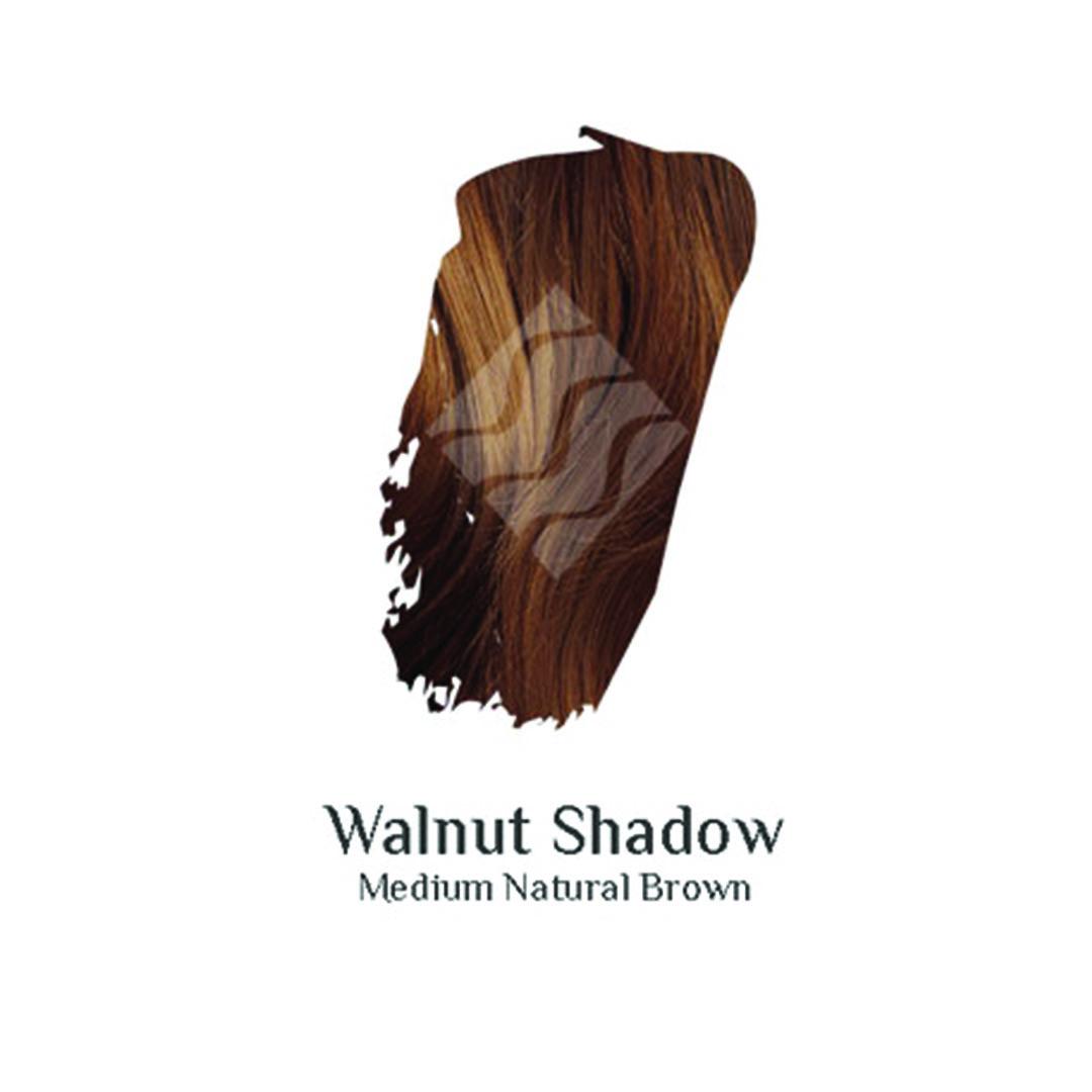 Walnut Shadow medium brown hair colour swatch sample