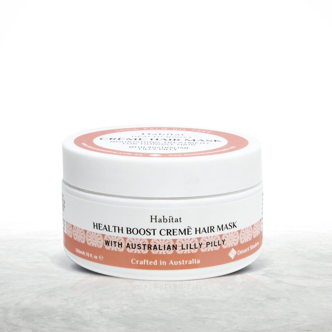Habitat Health Boost creme hair mask with Lily Pily extract - palm oil free - product image