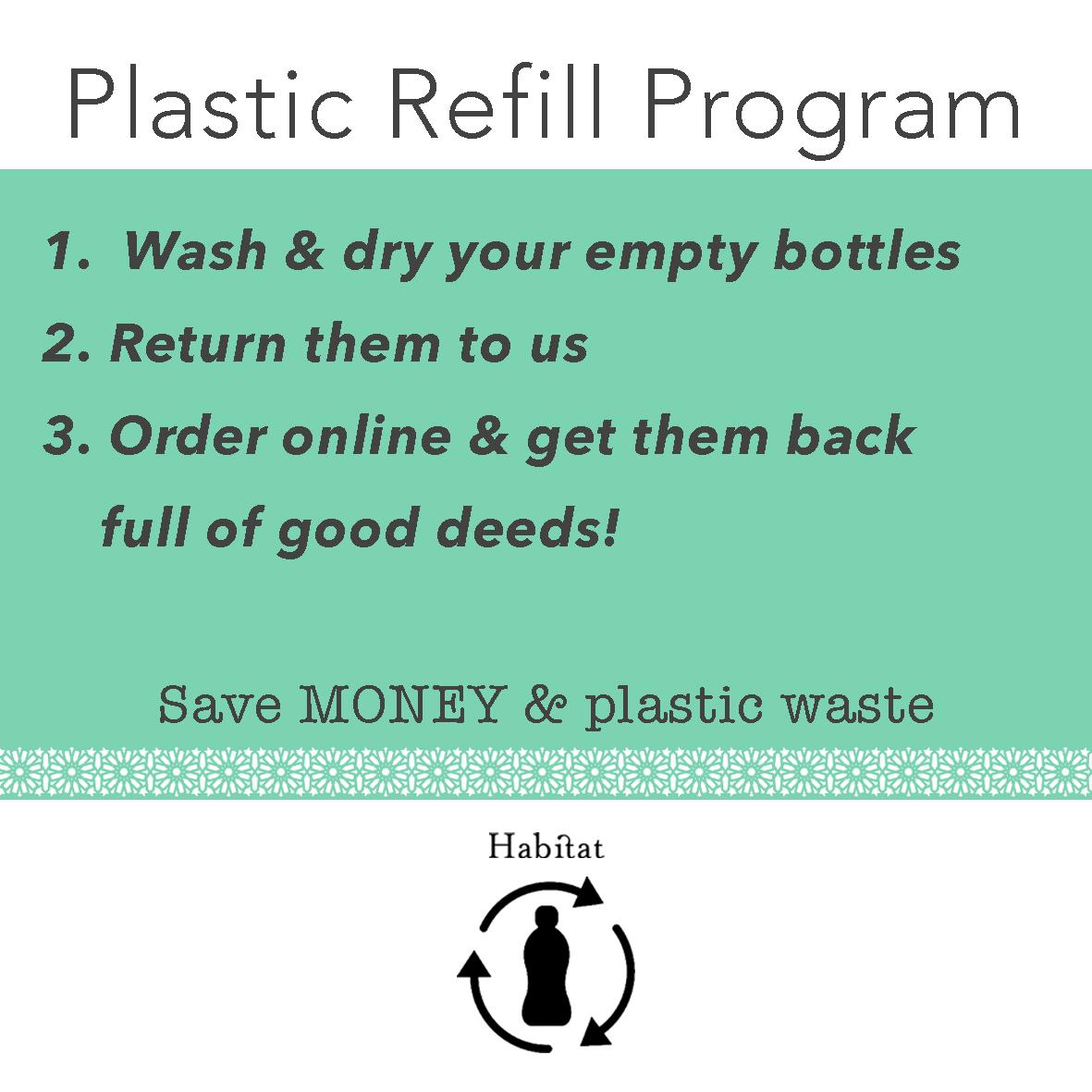 Plastic refill programme