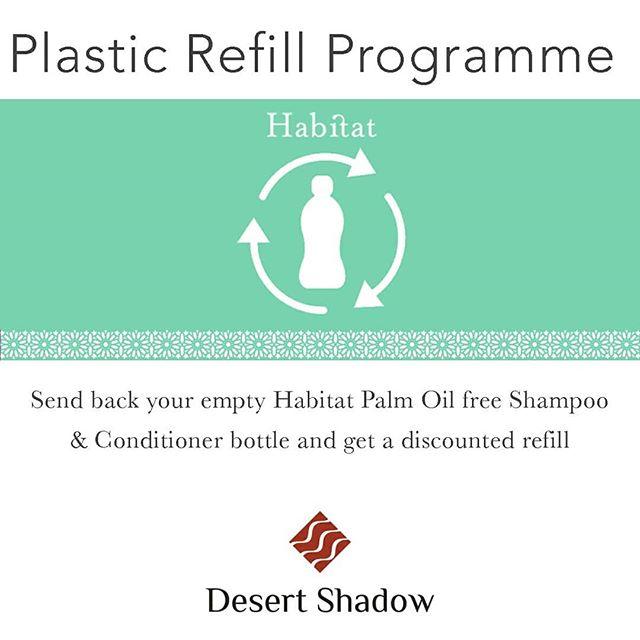 Plastic refill programme - Palm oil free Shampoo