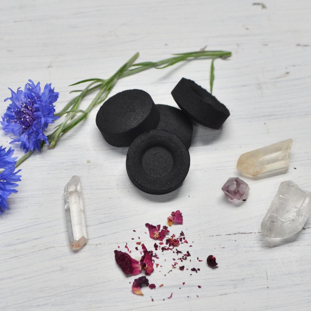 Charcoal discs for ritual incense product image