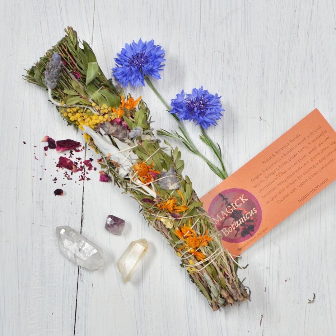 Magic botanicus ritual smudge stick large product shot
