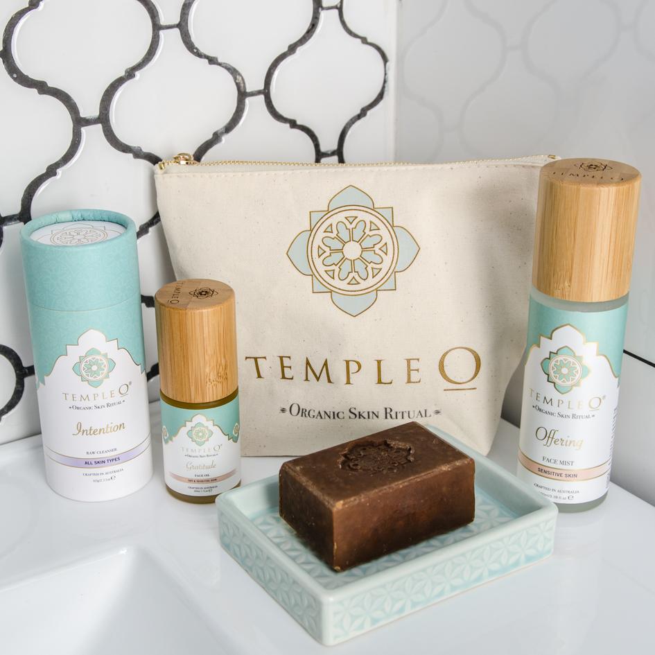 Temple O ritual skin care pack product shot