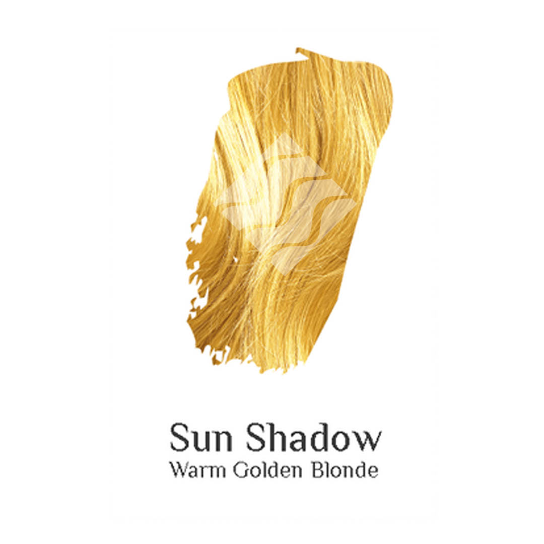 Organic hair colour Sun Shadow - Warm golden blonde