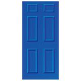 Door Vinyl Decal, Dementia Friendly  - Blue