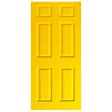 Door Vinyl Decal, Dementia Friendly - Yellow