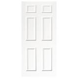 Door Vinyl Decal, Dementia Friendly - White