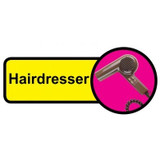 Hairdresser Sign, Dementia Friendly - 48cm x 21cm