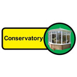 Conservatory Sign, Dementia Friendly - 48cm x 21cm