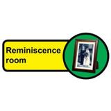 Reminiscence Room Sign, Dementia Friendly - 48cm x 21cm