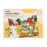 13-Piece Jigsaw - Summer Birds