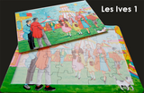 16 Piece Reminiscence Jigsaw - Les Ives 1