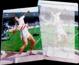 16 Piece Reminiscence Jigsaw - Shot Putt
