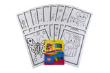 Colouring Cards and Crayons Set - Animals