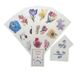 Pairs Card Game - Flowers