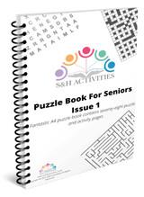 Puzzle Book for Seniors Issue 1