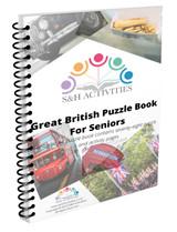 Great British Puzzle Book for Seniors