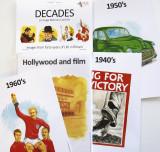 Decades Theme Memory Card Set