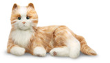 Joy For all Interactive Companion Pet - Orange Tabby Cat