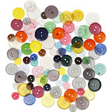 Button Mix - Pack of 100