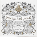 Enchanted Forest Anti-Stress Colouring Book