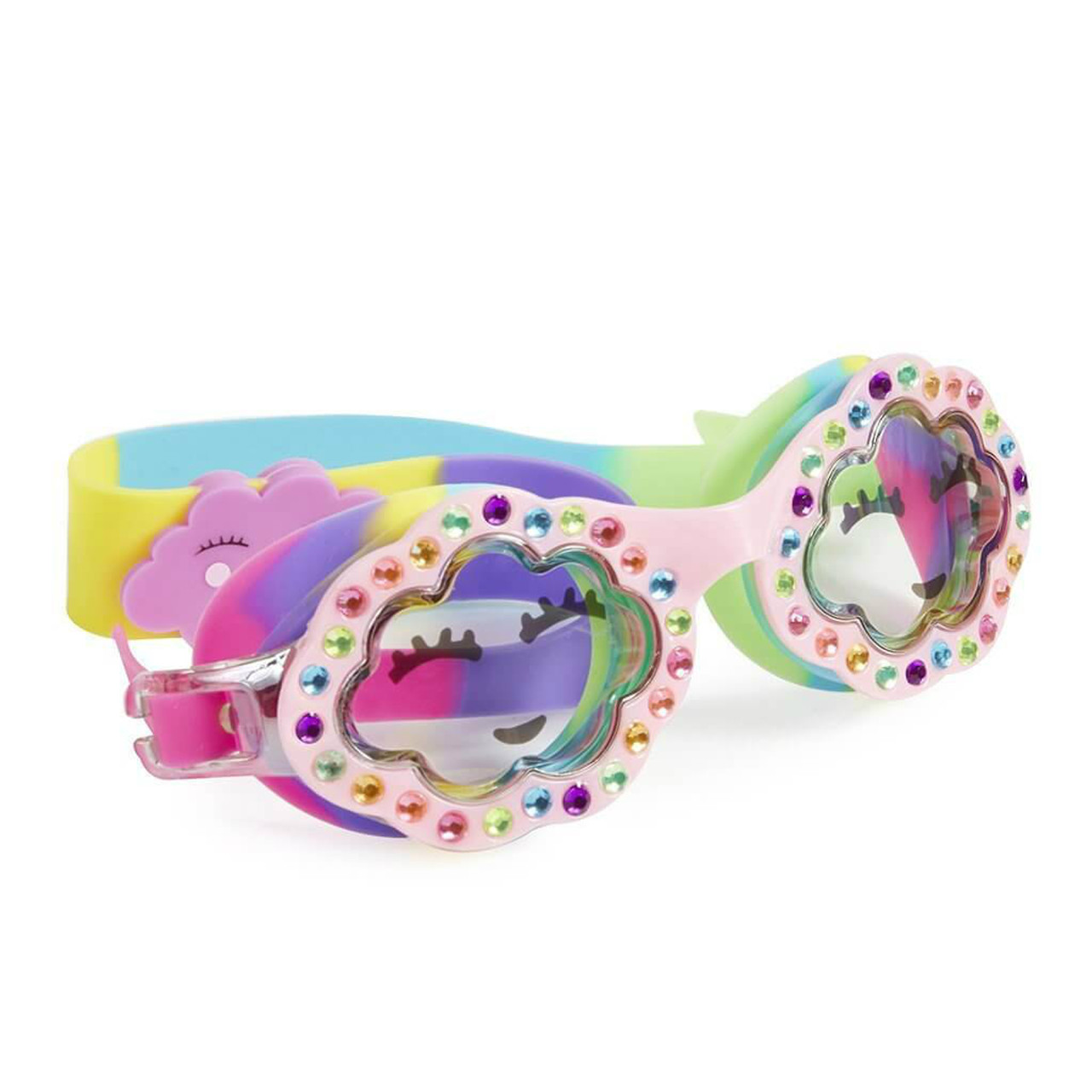 4a6b248efc75 Girls Goggles - Cloud 9 Dreamy Pink Kids  Swim Goggle