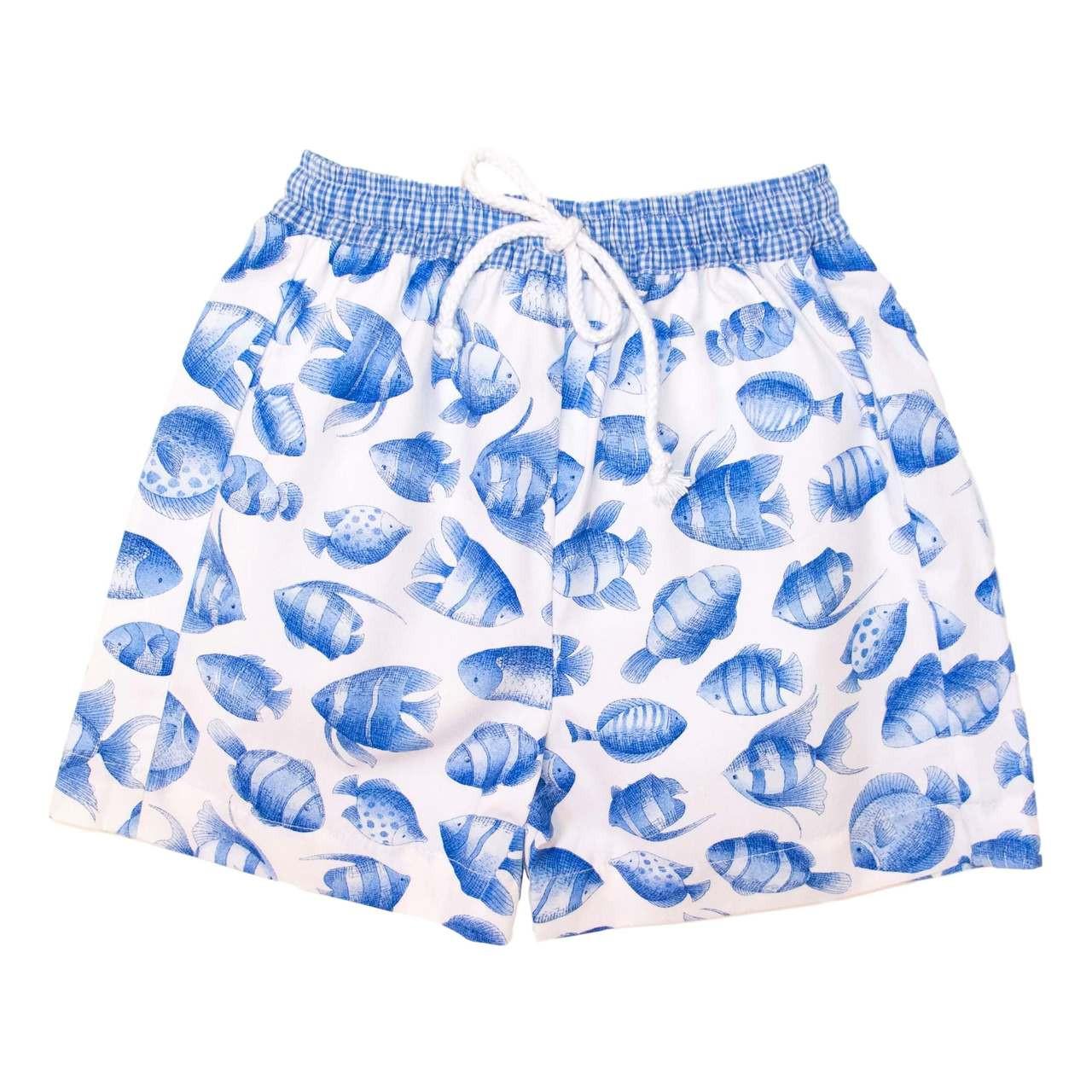 1f68c56875 Fishy Boys Swim Trunks ⋆ Cecil & Lou