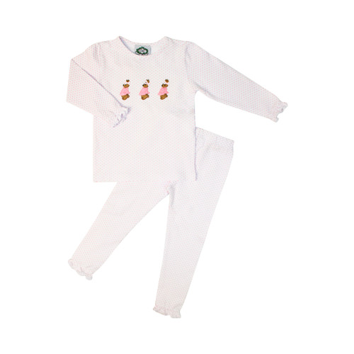 5f625cd47649 Girls Pajamas ⋆ Girls Baby-Toddler-Kids Pajamas ⋆ Smocked Threads ...