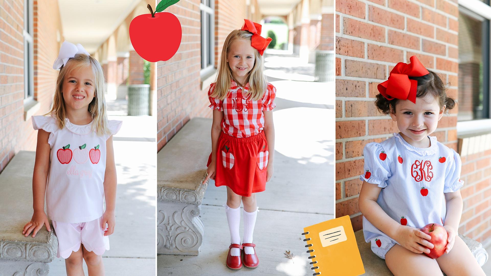 Girls Back to School Clothing
