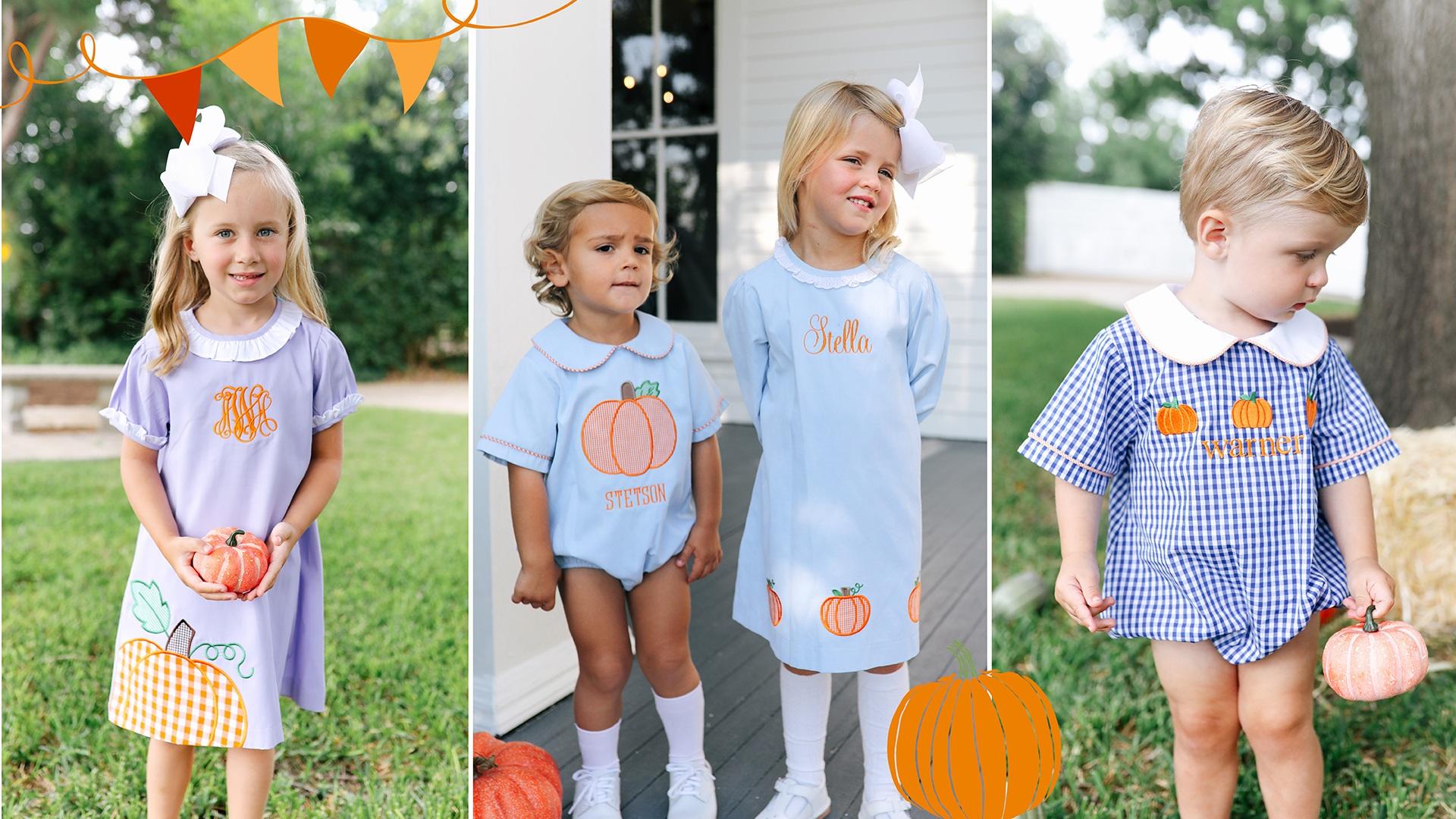 Childrens Pumpkin Outfits