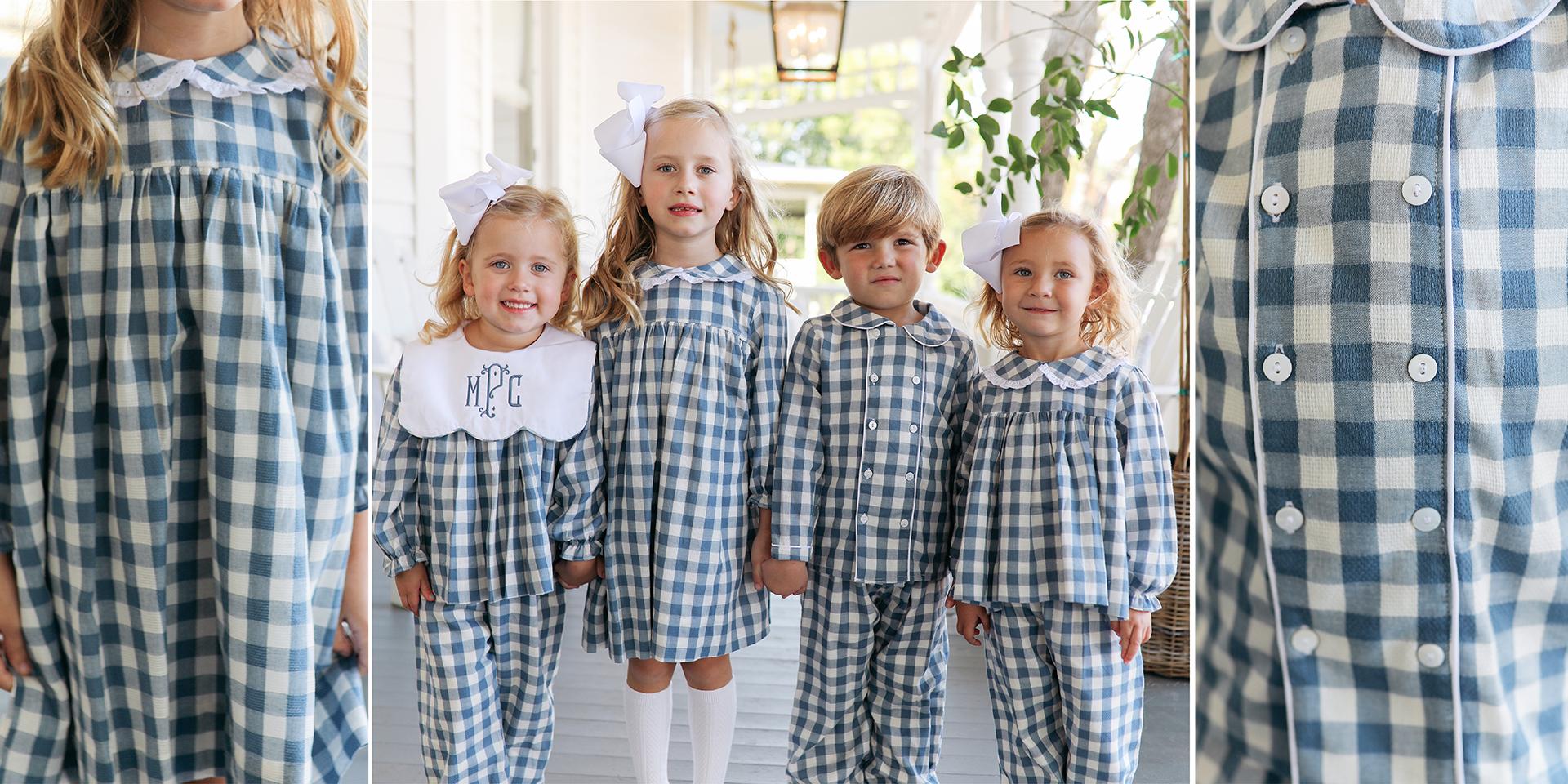 little girls in white bishop dress