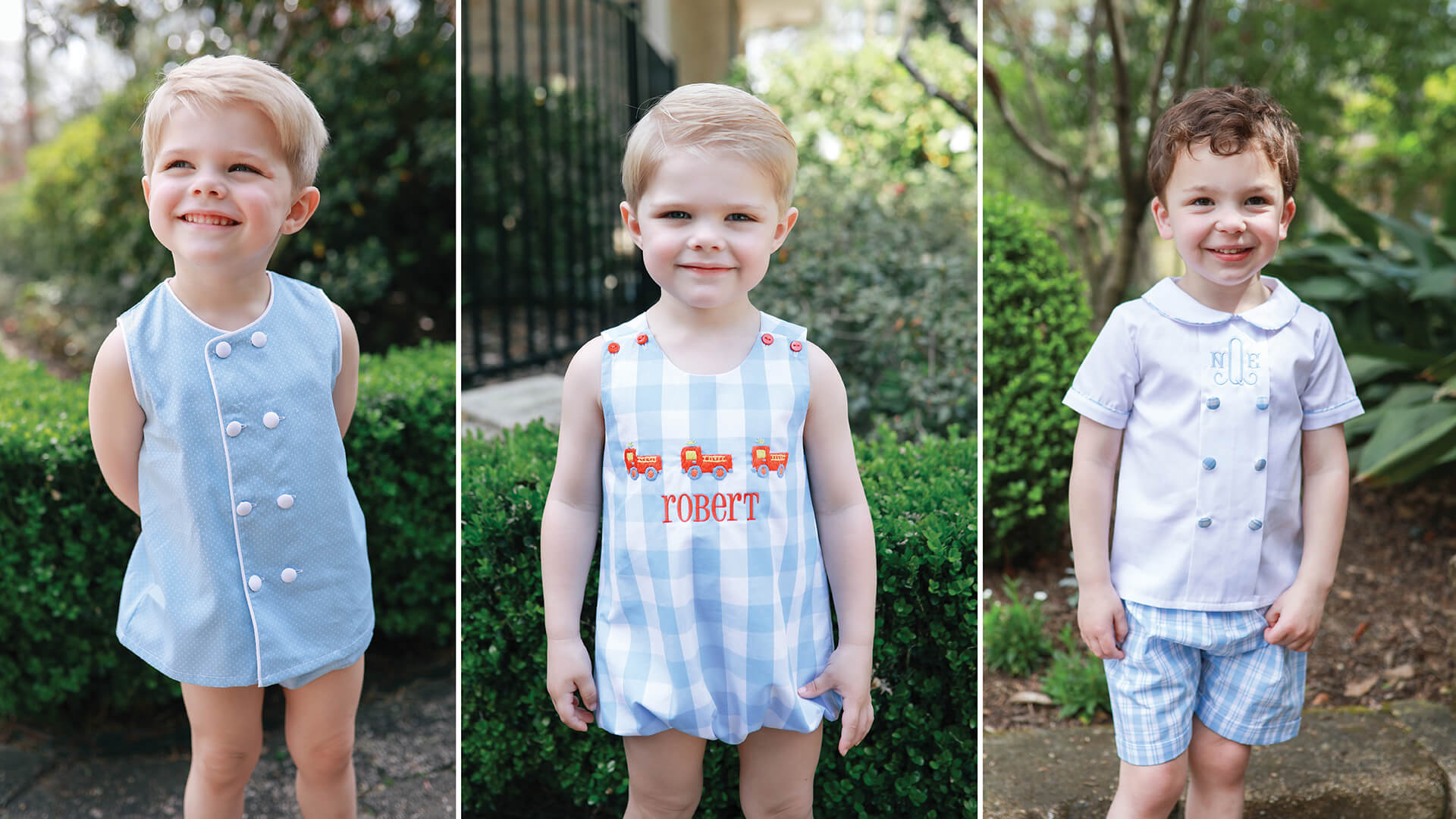 Boy's Spring Clothing - Boy's Summer Clothing