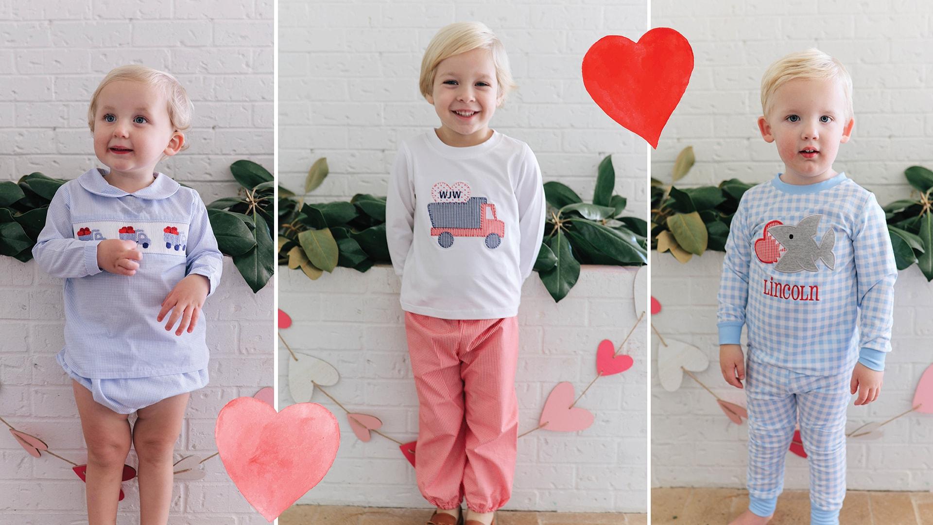 Boys Valentines Clothes